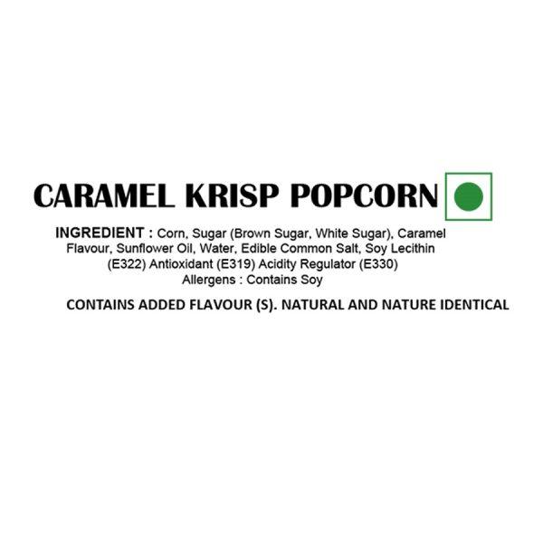 Caramel Krisp Popcorn - Ingredients