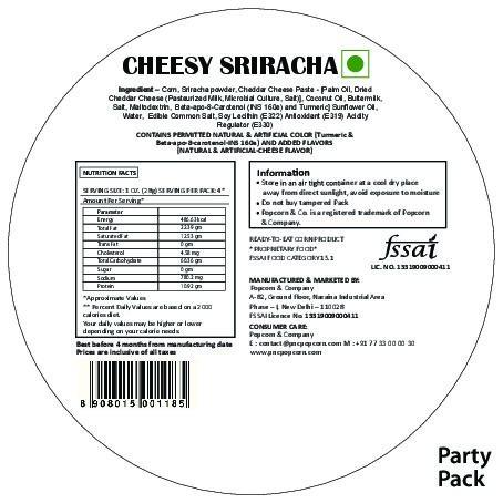 Cheesy Sriracha PP