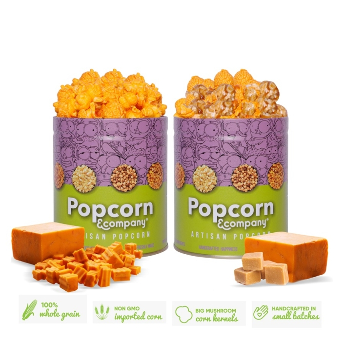Cheesy Sriracha Popcorn & Chicago Mix Popcorn 140 GM (Pack of 2)