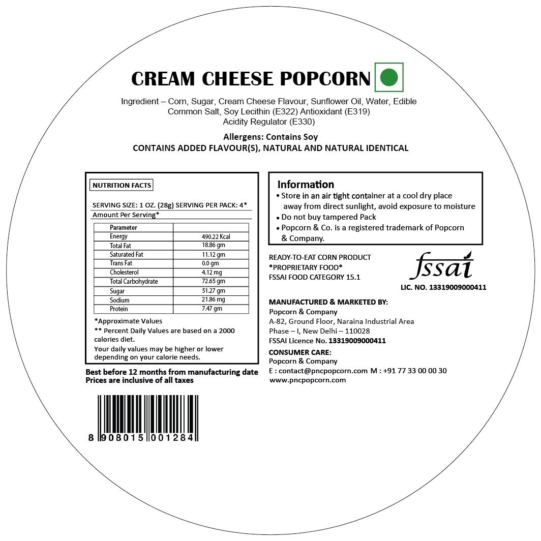 FL - Cream Cheese Popcorn Regular Tin 130 GM