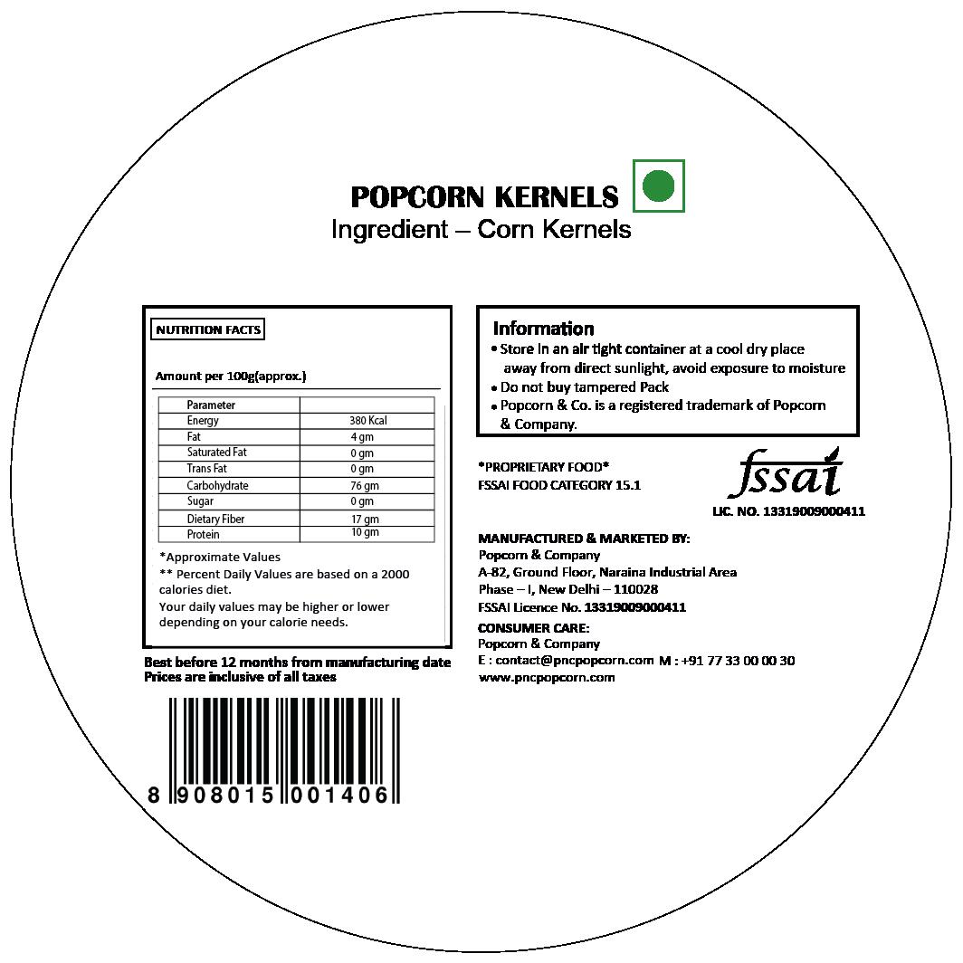 FL - Popcorn Kernels Regular Tin 600 GM
