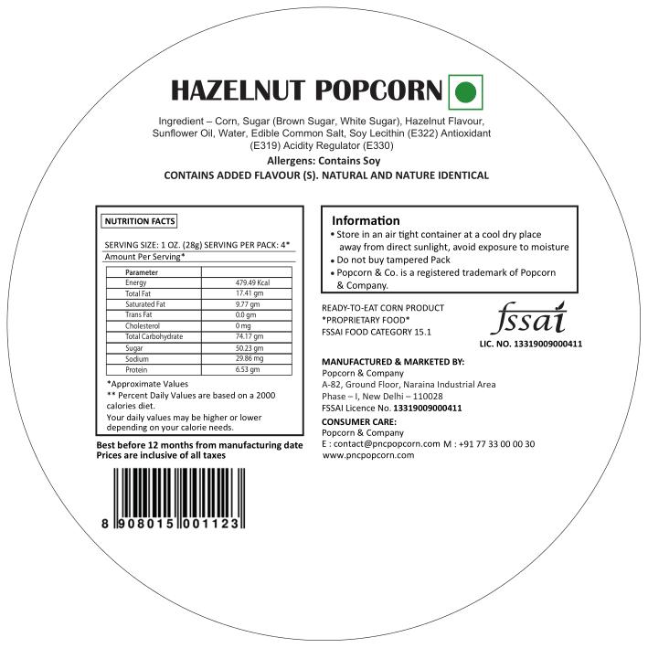 Hazelnut Popcorn Regular Tin