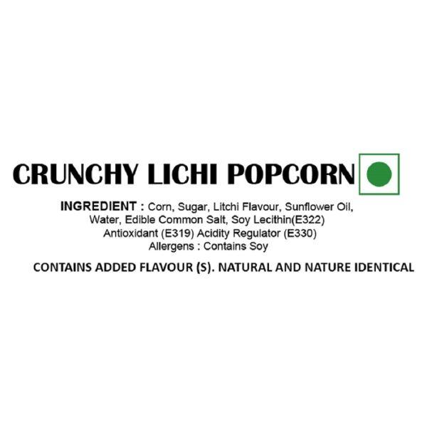 LiLchi Popcorn - Ingredients