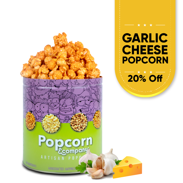 Garlic Cheese Popcorn Product Image