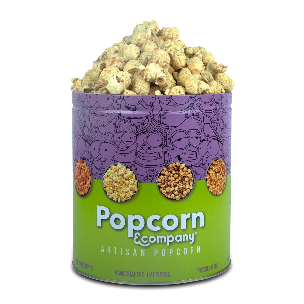 Garlic Cheese Popcorn