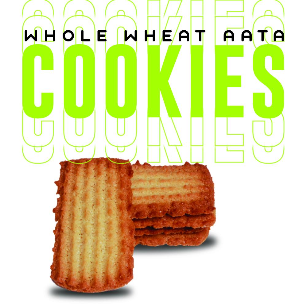 Desi Ghee Aata Cookies